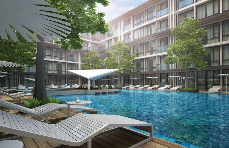 Patong Bay Hill Apartments Phuket, Thailand