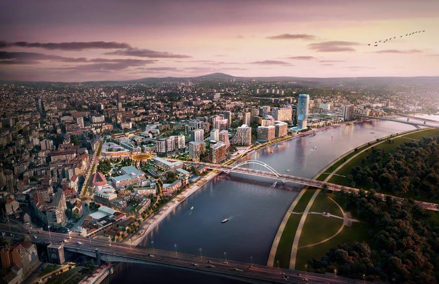 Master Plan Belgrade Waterfront