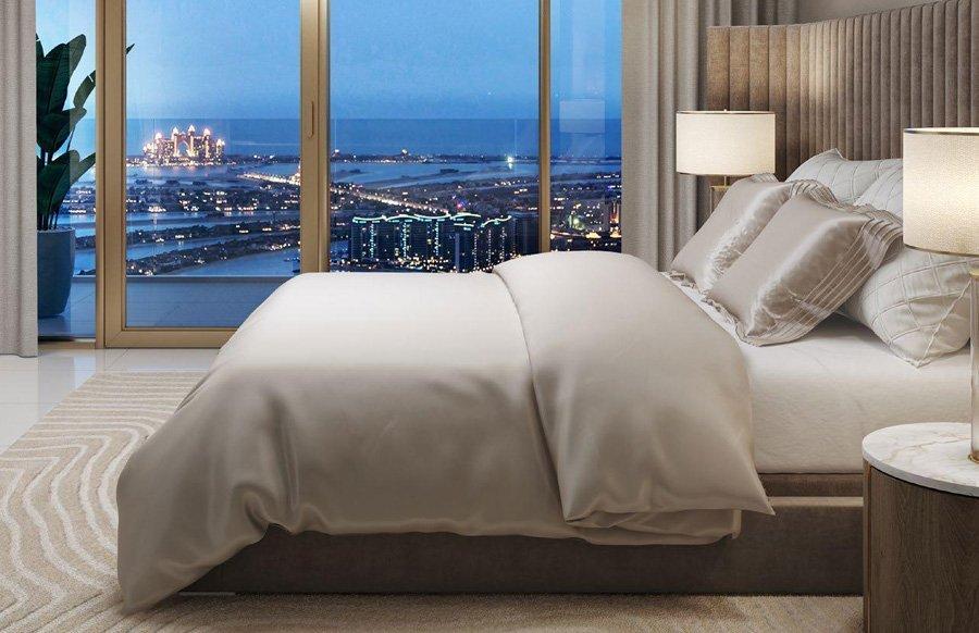 Grand Bleu Tower Elie Saab Bedroom