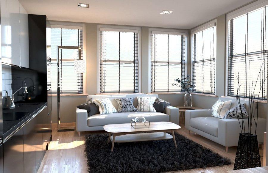 No.1 Hatton Garden Living Room