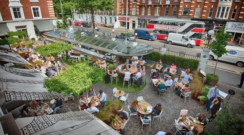 Bluebird Restaurant, Chelsea, London