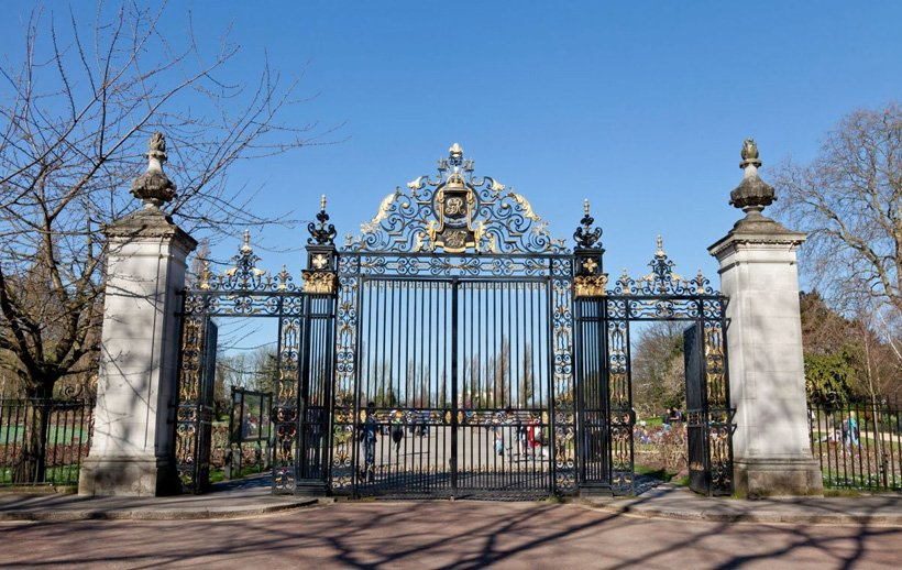Jubilee Gates Regent's Park London