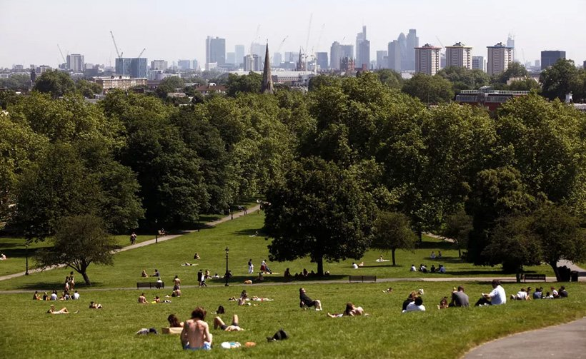 Primrose Hill St Johns Wood London