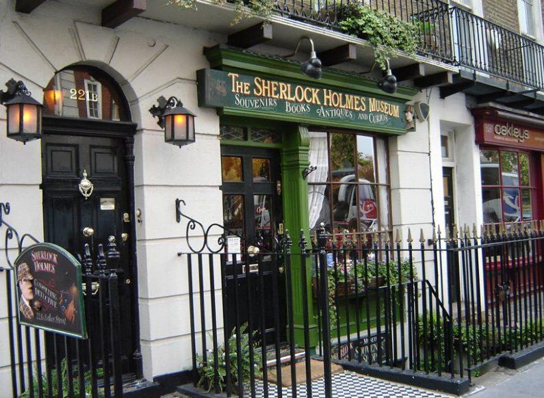 Sherlock Holmes Becker Street St Johns Wood