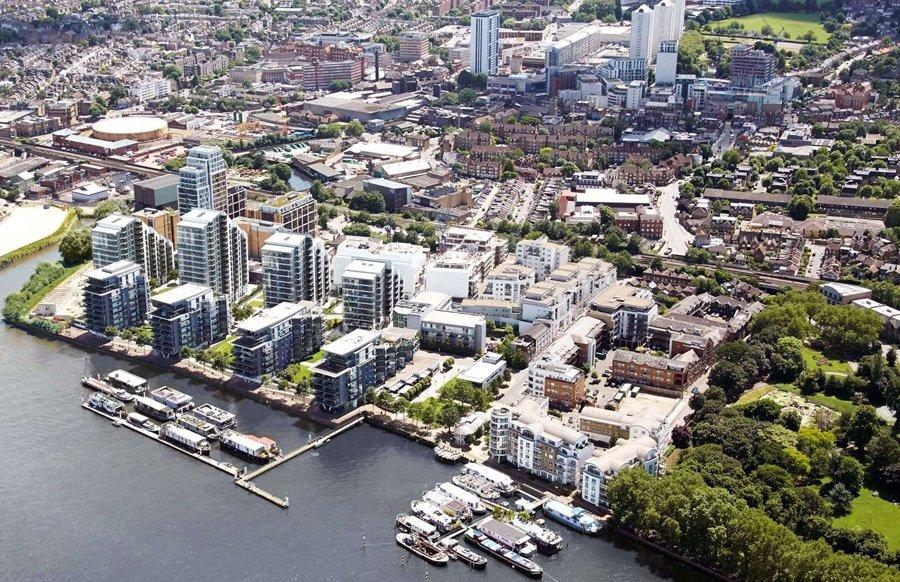 Riverside Quarter Aerial